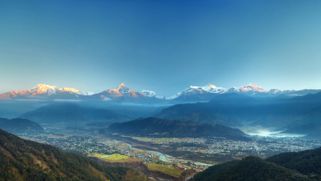 Annapurna base camp trek pokhara drive