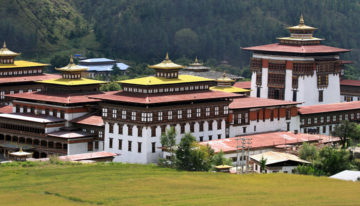 Taschichodzong in Thimpu